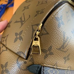 Louis Vuitton Palm Springs mini backpack reverse